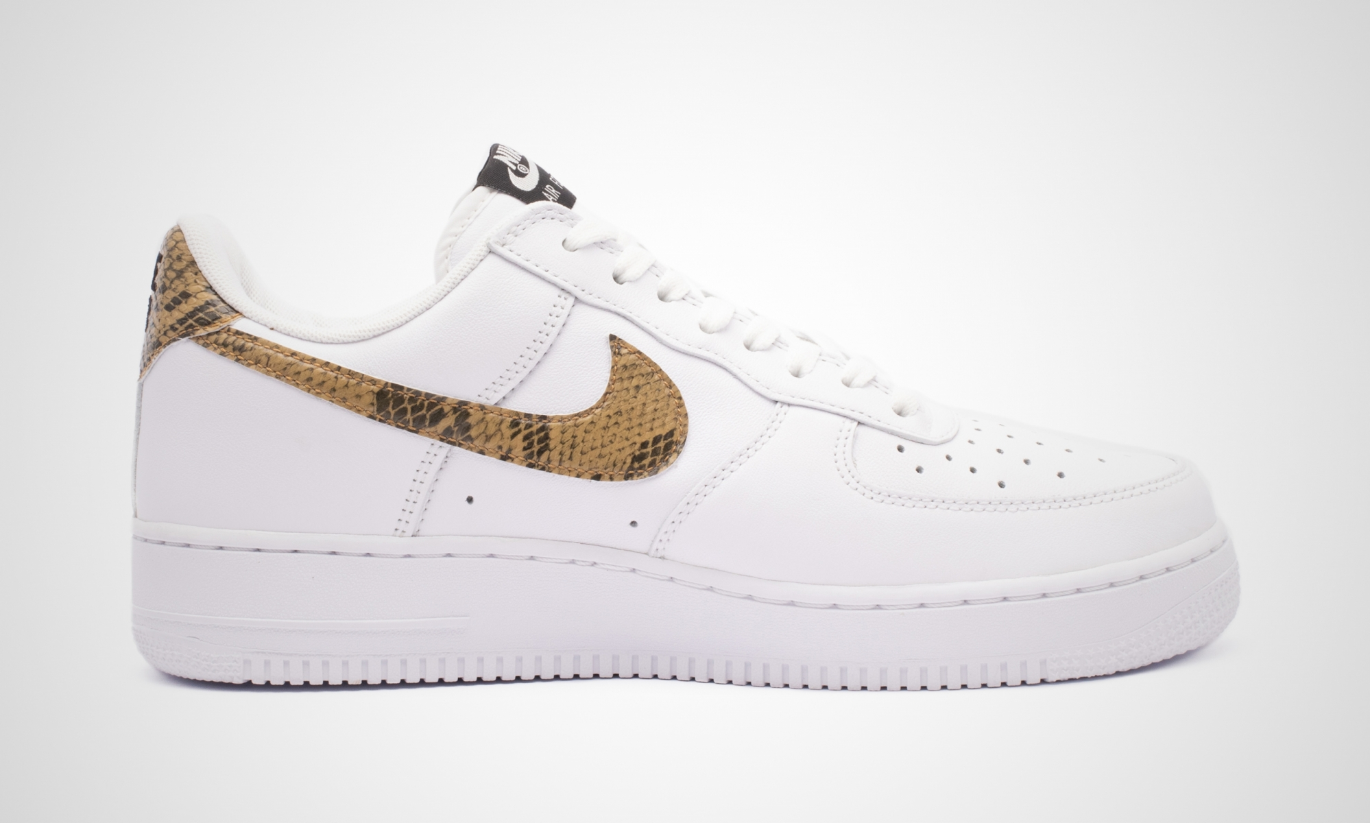 nike air force 1 low ivory snake