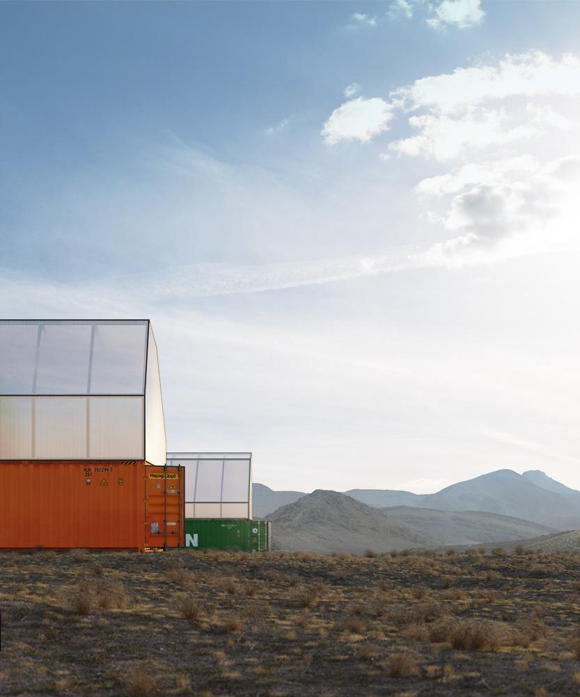 Container Architektur TRS Studio