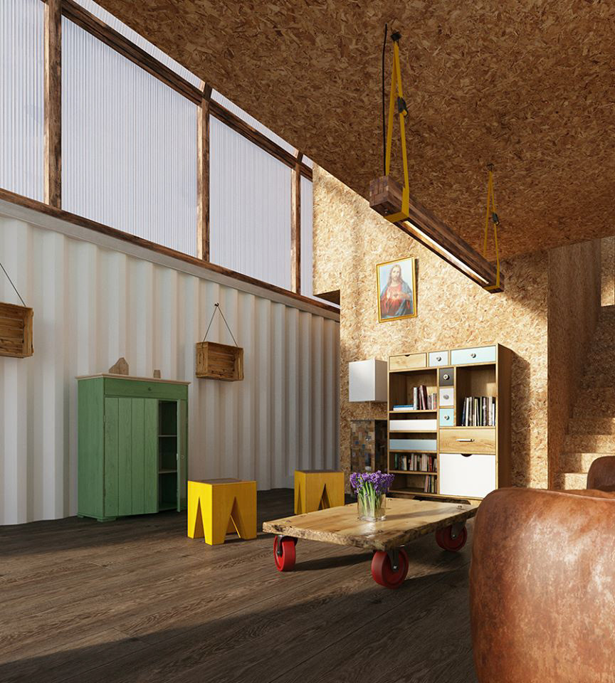 Container Architektur TRS Studio
