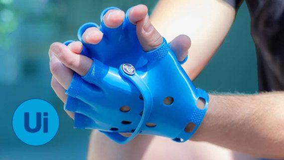 Croc Gloves