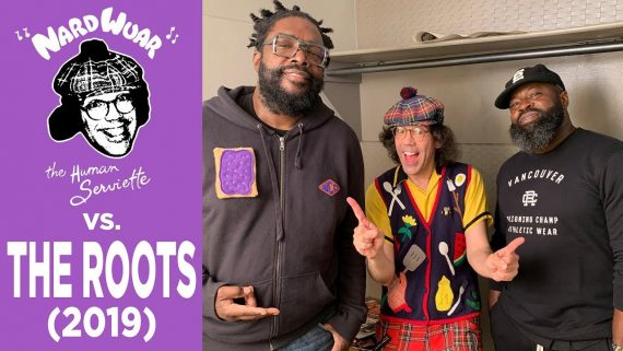 nardwuar the roots
