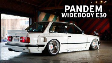 89er BMW E30 Widebody Tuning