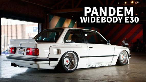 89er BMW E30 Widebody Tuning