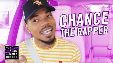 chance the rapper james corden
