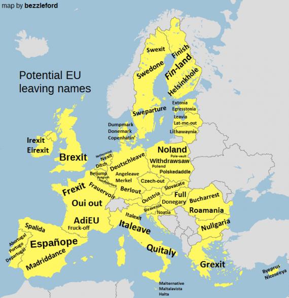 EU Exit Wortspiele