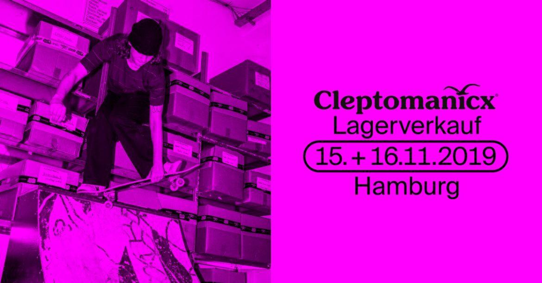 Cleptomanicx Lagerverkauf