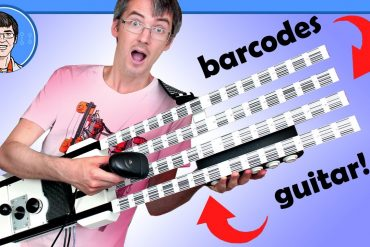 barcode gitarre