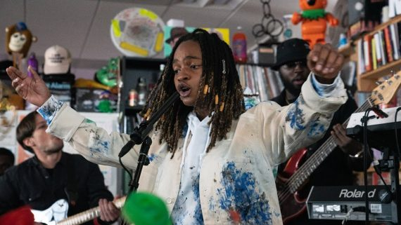 koffee tiny desk concert