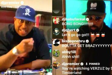 DJ Premier vs RZA Beat Battle