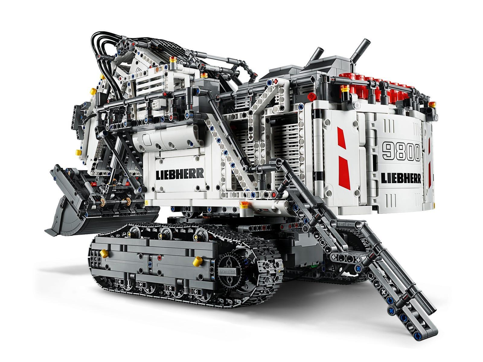 LEGO Liebherr Bagger R 9800