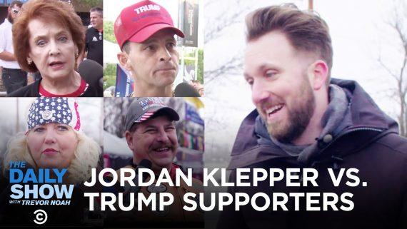 Jordan Klepper vs Trump Supporters