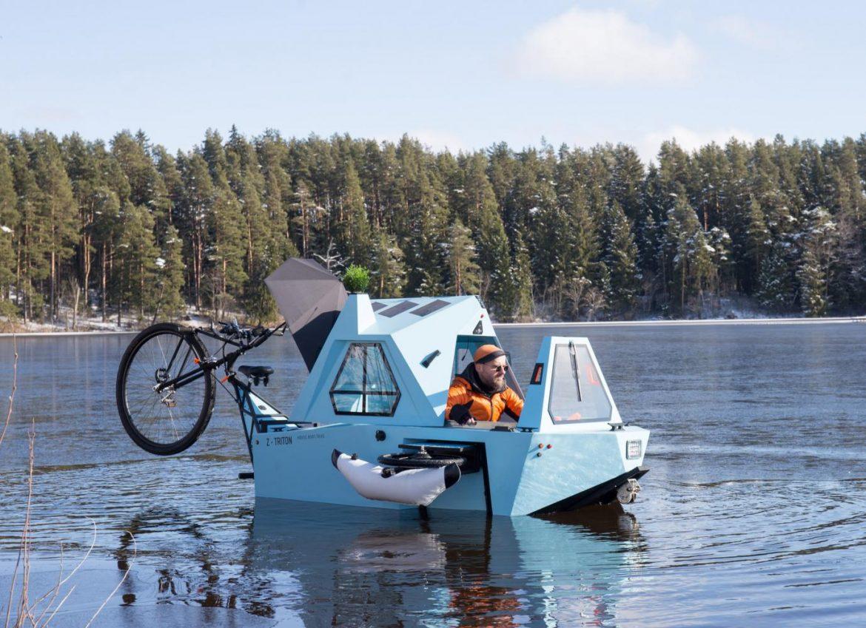z-triton hausboot