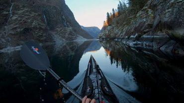 kayak 4k norwegen