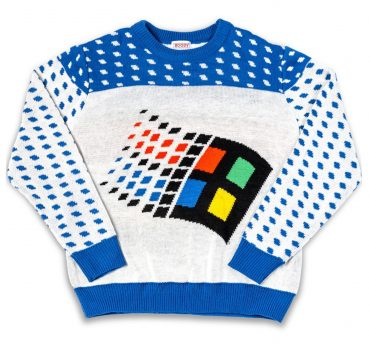 windows 95 ugly sweater