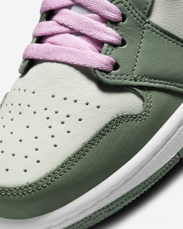Air Jordan 1 Dutch Green Arctic Pink